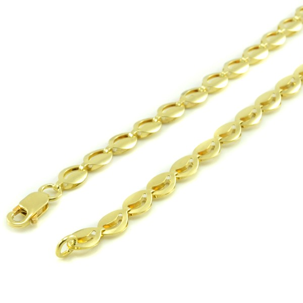 Zlatý náhrdelník-kávové zrná