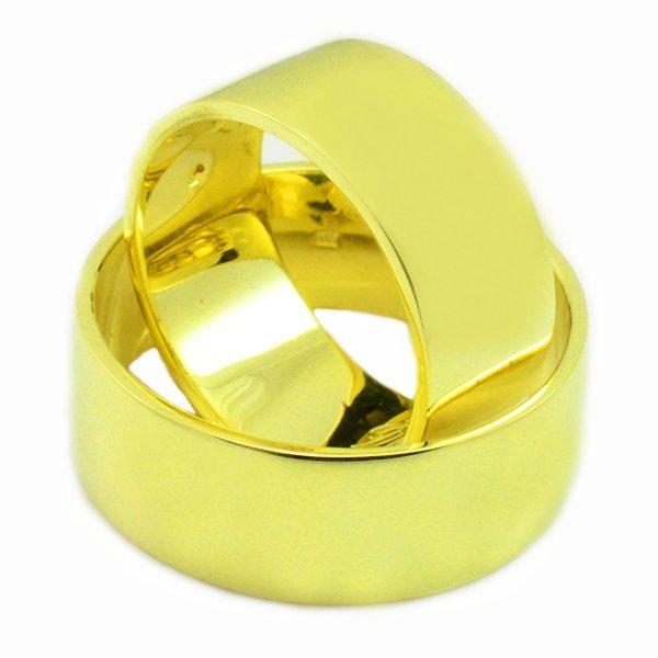 Svadobné obrúčky zo žltého zlata 8 mm