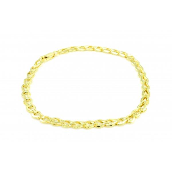 Náramok zo žltého zlata - Elegant