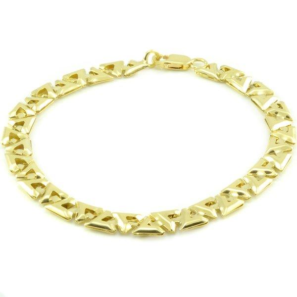 Zlatý náramok-grécky vzor