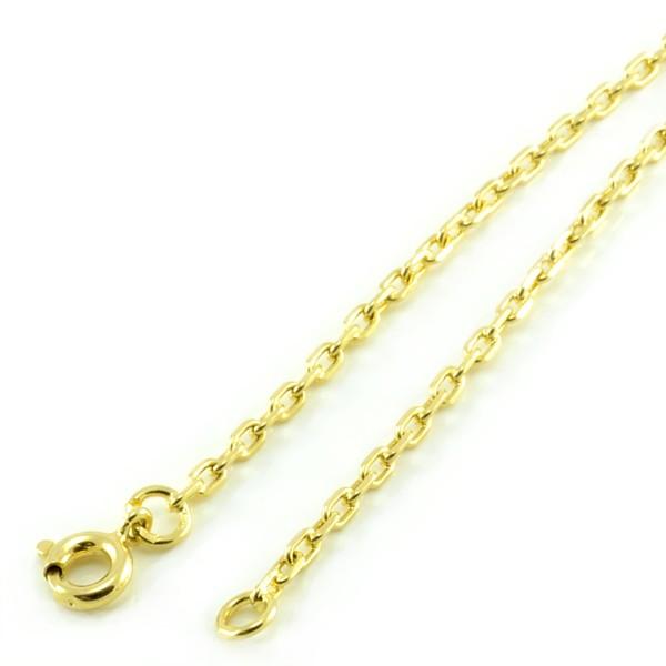Zlatá pilovaná retiazka zo žltého zlata