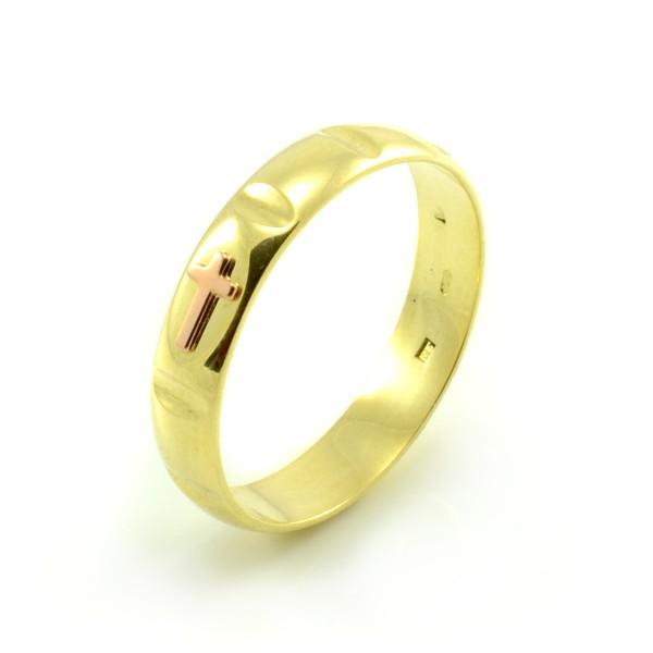Prsteň zlatý ruženec